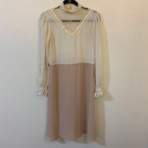 Vintage sheer Victorian insp dress